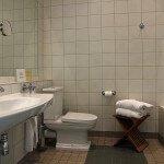 I Herregårdsvillaen, bad med badekar, balkon eller terrasse, minibar, 40-tommers Led-TV, WiFi, badekåber, 35 kvm