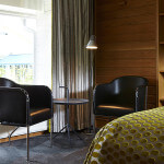 I villa 1-3 med terass, en säng 160 bred, 32 tums Tv, dusch, minibar, wifi, 23 kvm