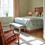 I Herregårdsvillaen, åben pejs, bad med badekar, terrasse, lounge med sofa, to 40-tommers Led-TV, WiFi, badekåber, 45 kvm