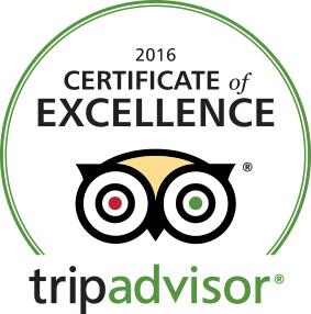 Certificate of Excellence är ett sätt för TripAdvisor att hylla företag inom turismbranschen som utmärker sig genom att ständigt få beröm och höga betyg från resenärer
