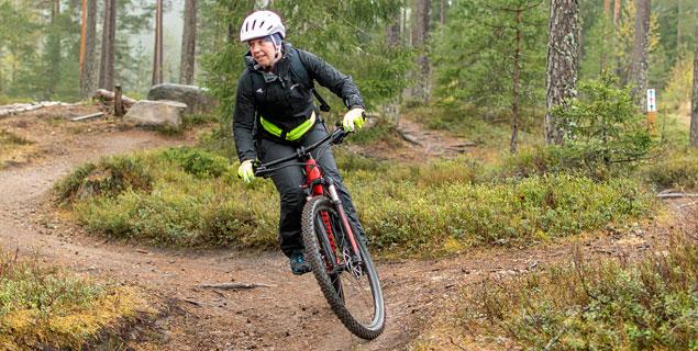 Mountainbike isaberg hestra