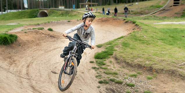 Mountainbike Isaberg